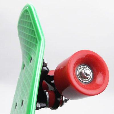画像3: REKON22.5インチPENNYスケートボード・コンプリートモデル【緑赤】
