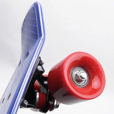 画像3: REKON22.5インチPENNYスケートボード・コンプリートモデル【青赤】