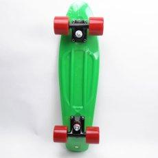 画像2: REKON22.5インチPENNYスケートボード・コンプリートモデル【緑赤】 (2)