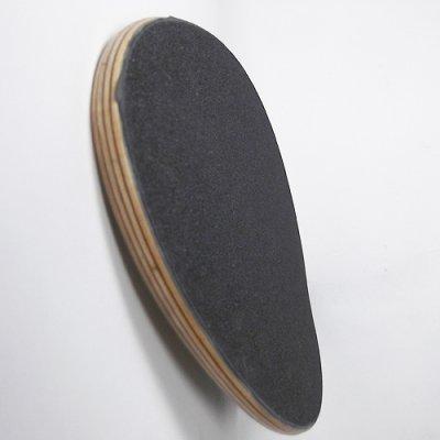 画像2: 28インチOriginal Skateboards Derringer デッキ・ナチュラルレッド(フルグリップ付)