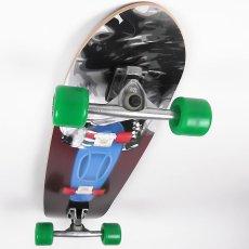 画像2: 36インチ・ドミネーター・ランダルR2-180mmサーフスケート・コンプリート (2)