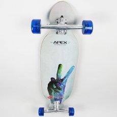 画像2: 37インチ オリジナル・スケートボード(Original Skateboards) APEX 37インチ・ダブルコンケーブ・コンプリートモデル (2)