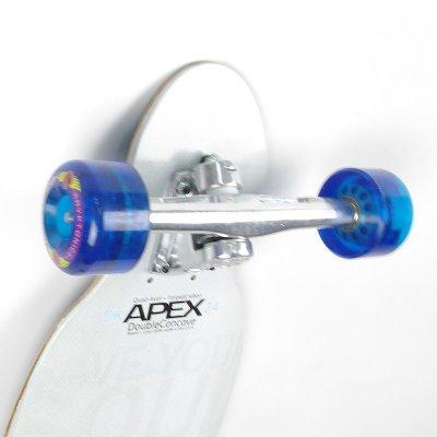 画像2: 【送料無料】34インチ オリジナル・スケートボード(Original Skateboards)社製 Apex34 Double Concave Super8コンプリート