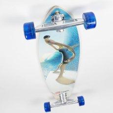画像2: 43インチ オリジナル・スケートボード(Original Skateboards)社製 Pintail43 コンプリート (2)