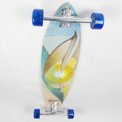 画像1: 37インチ オリジナル・スケートボード(Original Skateboards)社製 Pintail37 コンプリート