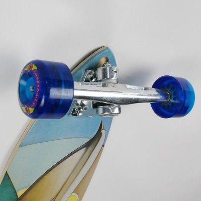 画像2: 37インチ オリジナル・スケートボード(Original Skateboards)社製 Pintail37 コンプリート