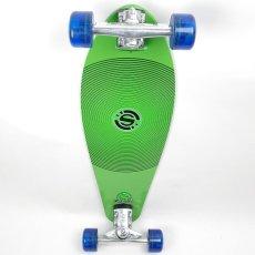 画像2: 28インチ オリジナル・スケートボード(Original Skateboards)社製 Derringer Super6コンプリート【グリーン】 (2)
