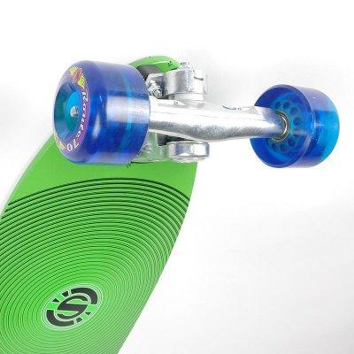 画像2: 28インチ オリジナル・スケートボード(Original Skateboards)社製 Derringer Super6コンプリート【グリーン】