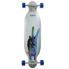画像1: 37インチ オリジナル・スケートボード(Original Skateboards) APEX 37インチ・ダブルコンケーブ・コンプリートモデル (1)