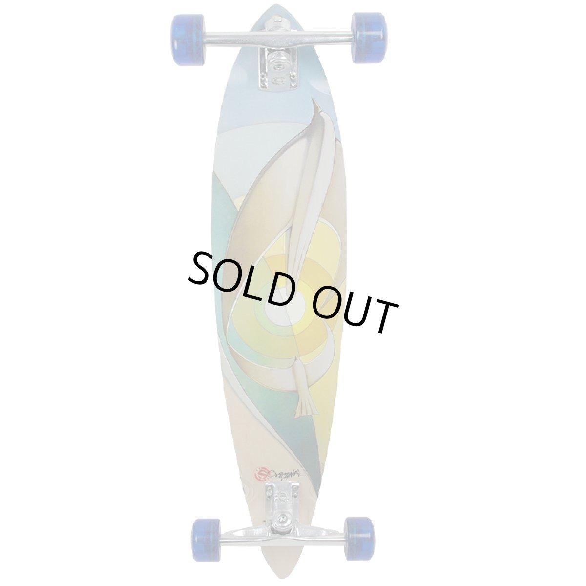 画像1: 37インチ オリジナル・スケートボード(Original Skateboards)社製 Pintail37 コンプリート (1)