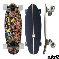 画像4: サーフスケート NitroSK8 スケートボード コンプリート Bali Bagus(バリ バグース)モデル28.5インチ x 9.5インチ (4)