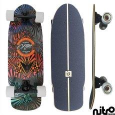 画像4: サーフスケート NitroSK8 スケートボード コンプリート Retro Surf(レトロサーフ)モデル 30.5 x 10インチ (4)