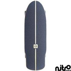 画像2: サーフスケート NitroSK8 スケートボード コンプリート Retro Surf(レトロサーフ)モデル 30.5 x 10インチ (2)