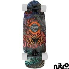画像1: サーフスケート NitroSK8 スケートボード コンプリート Retro Surf(レトロサーフ)モデル 30.5 x 10インチ (1)
