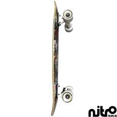 画像3: サーフスケート NitroSK8 スケートボード コンプリート Hermanos(ヘルマノス)モデル 34 x 10インチ (3)