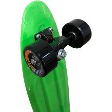 画像4: REKON22.5インチPENNYスケートボード・コンプリートモデル【緑黒】ウィール変更版 (4)