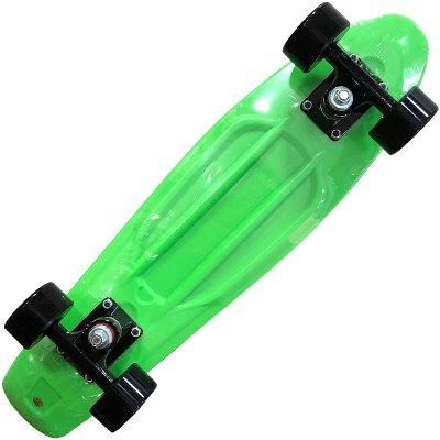 画像2: REKON22.5インチPENNYスケートボード・コンプリートモデル【緑黒】ウィール変更版