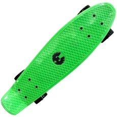 画像2: REKON22.5インチPENNYスケートボード・コンプリートモデル【緑黒】ウィール変更版 (2)