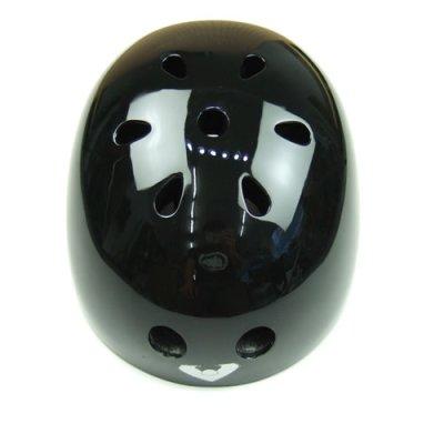 画像2: Viking スケートボード用ヘルメット【フリーサイズ】黒無地