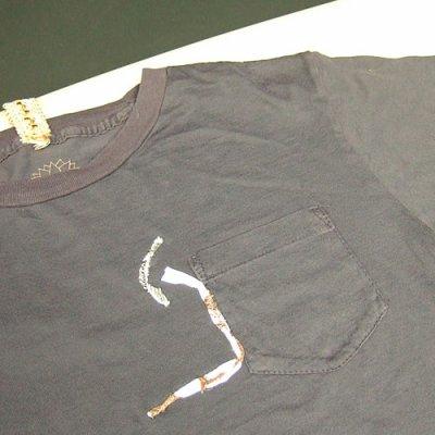 画像1: Jalian T-shirts SUMI MサイズB