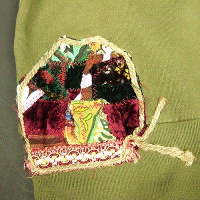 画像3: Jalian Pull-Over Hooded Swet (Olive) MサイズA