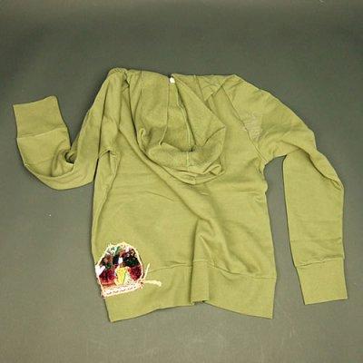画像1: Jalian Pull-Over Hooded Swet (Olive) MサイズA