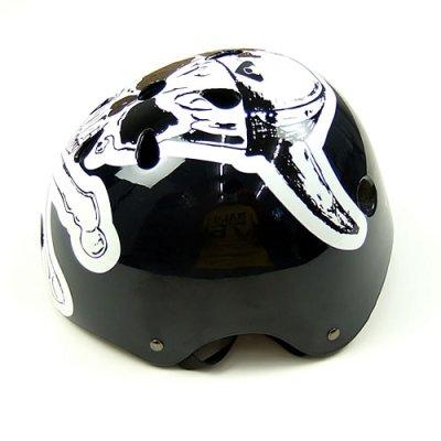 画像1: Viking Skull ヘルメット(おとな用フリーサイズ)