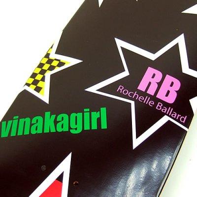 画像2: 32インチ Rochell Ballard(ロシェリ・バラード)オリジナルサーフスケートデッキ
