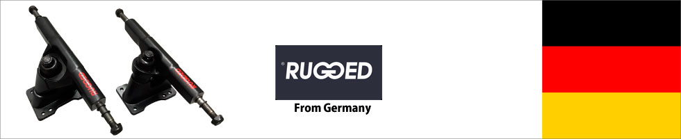 Rugged サーフスケート トラック