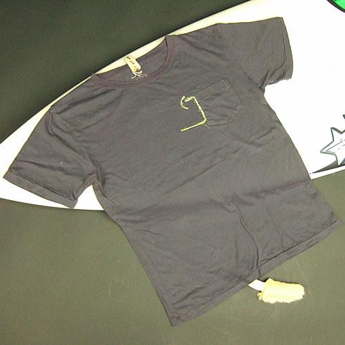 画像1: Jalian T-shirts SUMI LサイズA (1)