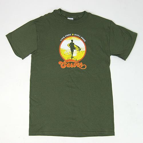 画像1: Carver (カーバー)Live Free Tシャツ (1)