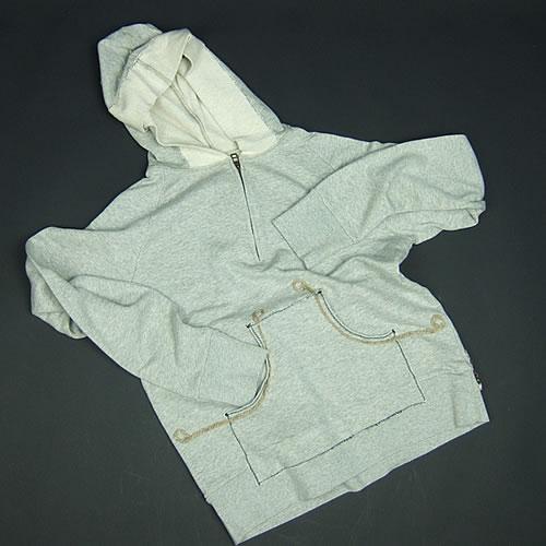 画像1: Jalian Pull-Over Hooded Swet (Heather) MサイズA (1)