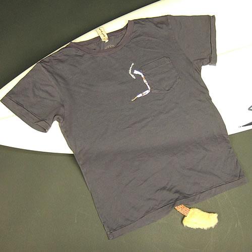 画像1: Jalian T-shirts SUMI MサイズB (1)