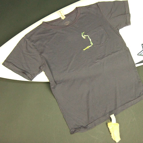 画像1: Jalian T-shirts SUMI LサイズB (1)