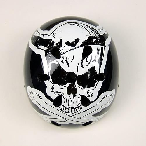 画像1: Viking Skull ヘルメット(おとな用フリーサイズ) (1)